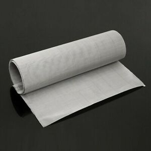 90 30cm Roll 100 m Mesh Stainless Steel Woven Cloth Wire Screen Filter Sheet