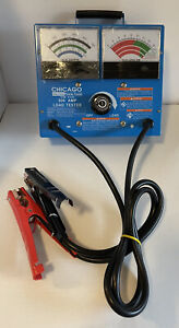 New Listingchicago Electric Carbon Pile Load Tester Alternator Model 91129 A Condition
