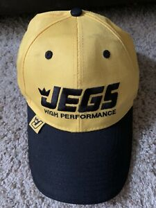 New Listingjegs High Performance Parts Muscle Car Hot Rod Culture Hat Cap No Flaws
