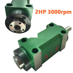 5 Bearing Spindle Unit 1 5kw 2hp Cnc Drilling Milling Power Head 3000rpm Steel