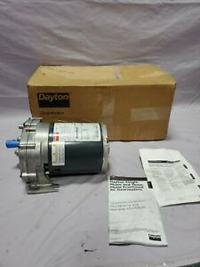 Dayton 1lpp7a 1 4 Hp 6 Rpm 115v Ac Parallel Phase Gear Motor Tested New In Box