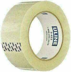 Uline S 423 Industrial Packing Tape 2 X 110 Yds 330 Feet 2 Mil Clear