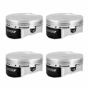 Manley Pistons For Mazda Speed 3 Mzr 2 3l Extreme Duty 88mm Bore 9 5 1 Cpr