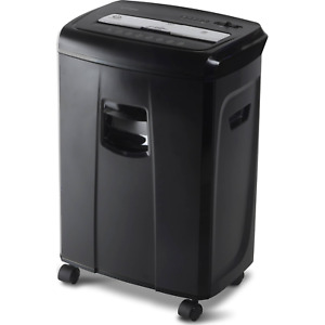 Aurora Gb 12 sheet Crosscut Paper And Credit Card Shredder With Pullout Basket