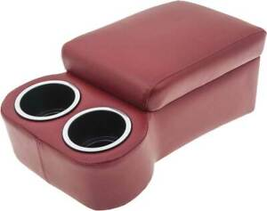 Classic Consoles Universal Fit Cruiser Bench Seat Console Red