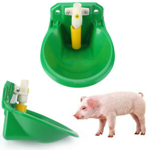 Automatic Water Water Drinker Bowl For Goat Sheep Pig Piglet Livestock Green