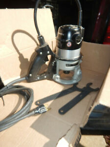 Usa Porter Cable 5372 537 D Handle Router W Wrenches And 1 2 Collet