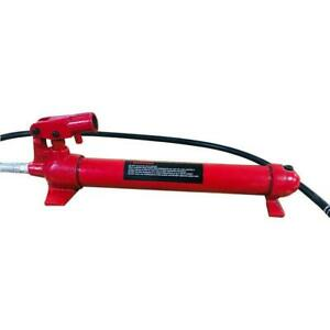 20000lbs 10 Ton Hydraulic Jack Hand Pump Ram Replacement For Porta Power Steel