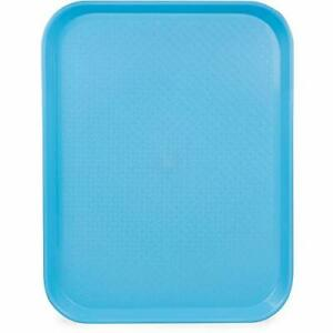 Fast Food Cafeteria Tray 14 X 18 Rectangular Textured Plastic Food Serving