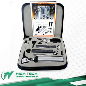 Incredible Premium Led Diagnostic Set Otoscope Ophthalmoscope 4 Free Bulb