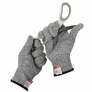 High Performance Cut Resistant Protective Cutting Gloves Durable Safety Level 5