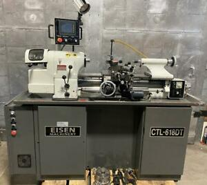 Eisen Ctl 618dt Super High Precision Tool Room Lathe With Digital Threading Nice