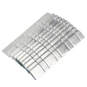 10pcs Tyre Tire Wheel Balance Weights Adhesive Strips Fit Car Motorcycle Truck