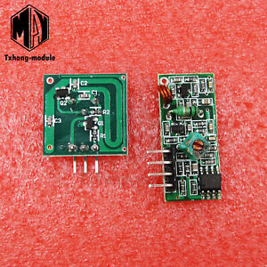 433mhz Rf Transmitter And Receiver Link Kit For Arduino Arm mcu Remote A2tm
