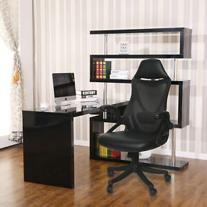 Ergonomic Office Chair High Back Executive Adjustable Computer Desk For Home