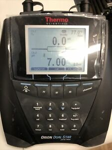 Thermo Scientific Orion Dual Star Ph se Meter Tested Used