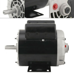Air Compressor Duty Electricity Motor 2hp 3450rpm Single Phase 120 240 Volt Usa
