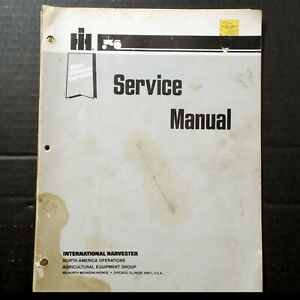 Ih Cub Cadet Tractor Engine Fuel Electrical Service Manual For Models 86 To 4210