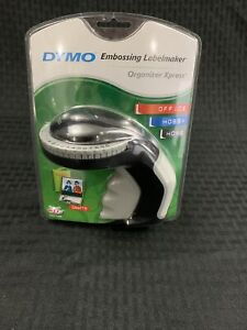 Embossing Label Maker With 3 Dymo Labeling Tapes Clicker Sticker Crafting Usa
