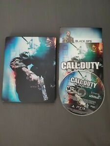 Call of Duty: Black Ops for Sony PlayStation 3 PS3 Steelbook Case Manual Disc $22.99