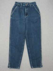 LH09455 VINTAGE 1980s LEE *300* RELAXED PLEATED WOMENS JEANS sz9 $25.00