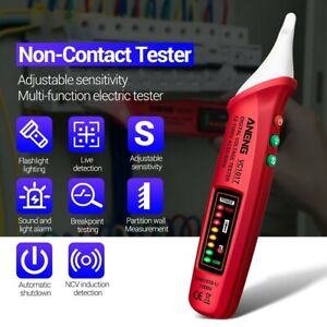 Vc1017 Non contact Led Electric Tester Digital Ac Voltage Meter Detector Tool