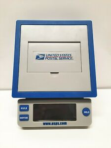 Usps Ten Pound Electronic Postal Scale Battery Operated 10 Lb