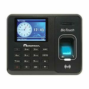 Acroprint Biotouch Self contained Automatic Biometric Fingerprint proximity T