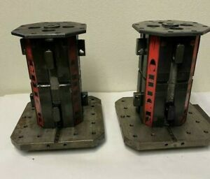 Lot Of 2 Tombstone Chick Vises For Cnc Mill 6 X 12 Haas Fadal Vmc