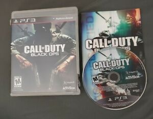 Call Of Duty: Black Ops For PlayStation 3 PS3 Free Shipping CIB with Manual $9.99