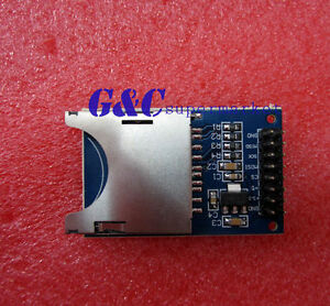 New Sd Card Module Slot Socket Reader For Arduino Arm Mcu Read And Write M18