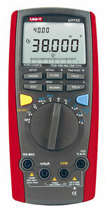 Ut71c Intellgent Digitel Multimeters Auto Range