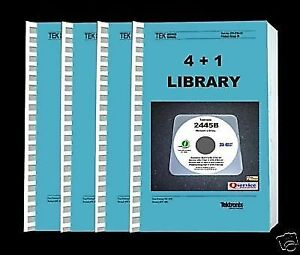 Tektronix 2445b 2455b Paper Manuals Library 4 1 Complete A3 Diagrams