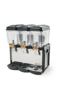 Cofrimill Juice Cold Drink Dispenser 3 Tanks Eurodib