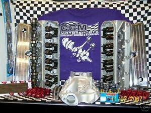 Sbf 351w Ford Aluminum Head Performance Top End Engine Kit
