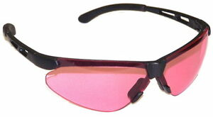10 Prs Janus Safety Shooting Glasses Pink S7519