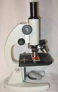 40x 500x Compound Student Biological Microscope New