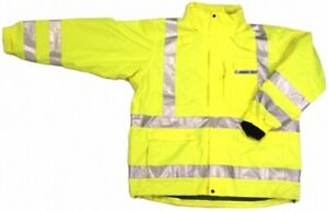 Ansi Class 3 Safety 3 in 1 Jacket Lime 28 5966 Small