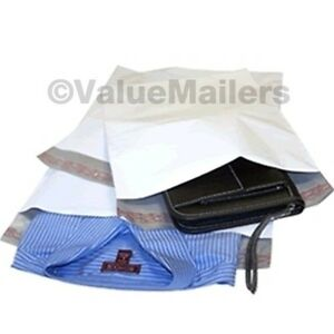 500 12x16 White Poly Mailers Envelopes Bags 12 X 16