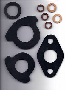 Rubber Water Meter Coupling Gaskets 1 Washer