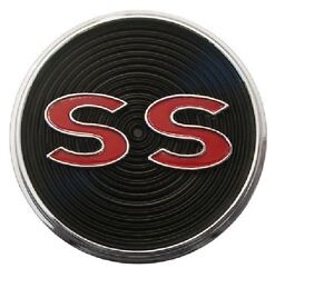 1964 64 Impala Super Sport Center Console Emblem Ss
