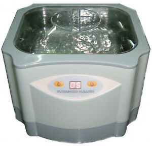 New Pro Large 60 Watts 1 4 Liters Ultrasonic Ultrasound Cleaner Jewelry