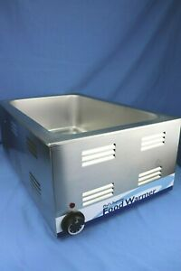 Countertop Food Warmer 1200 Watt 120v New