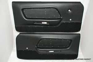 1970 Mustang Deluxe Door Panels Boss 302 Shelby And Mach 1