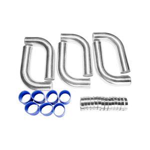Cxracing 3 Universal Alum Turbo Intercooler Piping Kit