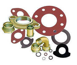 Rubber Water Meter Coupling Gaskets 3 4 Washer