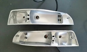 Porsche 911 69 73 Alloy Front Turn Indicator Signal Light Housing pair