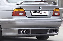 Bmw Genuine Rieger E39 97 03 5 Series Gtm Rear Apron