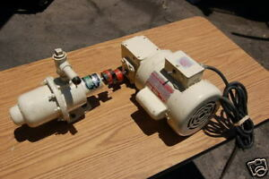 Dayton 1 4hp right angle gear motor continental pump cp