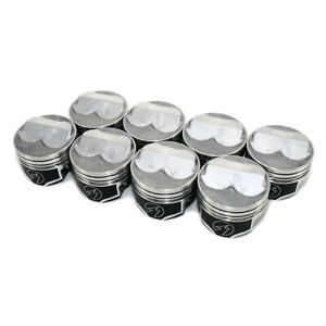 Speedo Pro Fmp H617cp40 Sbc 350 Small Block Chevy Domed Pistons 5 7 Rod 4 040
